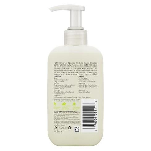 Neutrogena Naturals Purifying Face Wash with Salicylic Acid - 6 fl oz