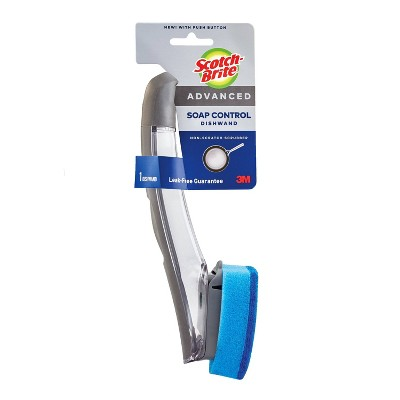 Scotch-Brite Advanced Soap Control Non - Scratch Scrubber Dishwand