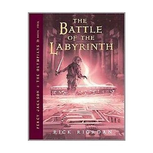 percy jackson and the olympians book four the battle of the labyrinth percy jackson the olympians band 4
