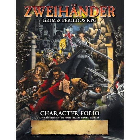 ZWEIHANDER Grim & Perilous RPG - by  Daniel D Fox (Paperback) - image 1 of 1