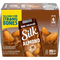 Silk Dark Chocolate Almond Milk 6 Pack