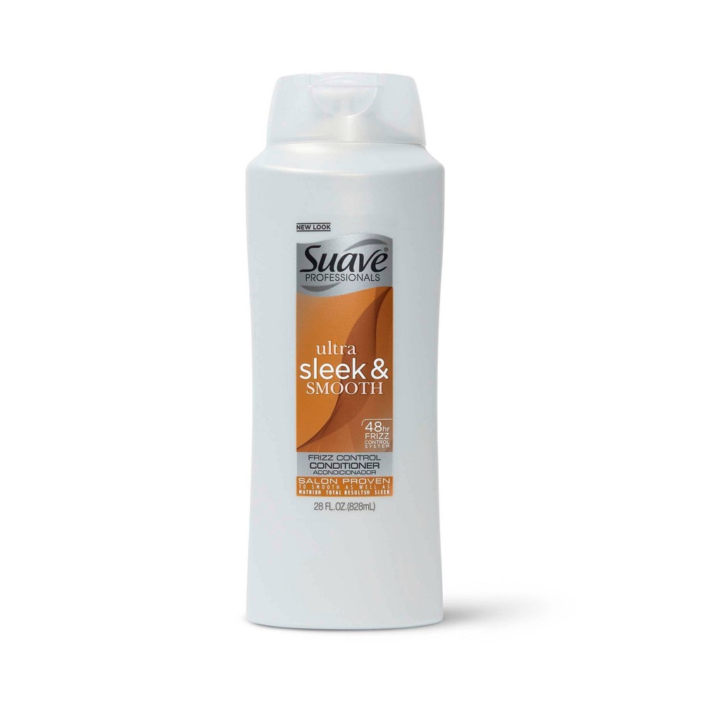 Suave Professionals Smoothing Conditioner For Frizz Control Ultra Sleek And Smooth 28 Fl Oz