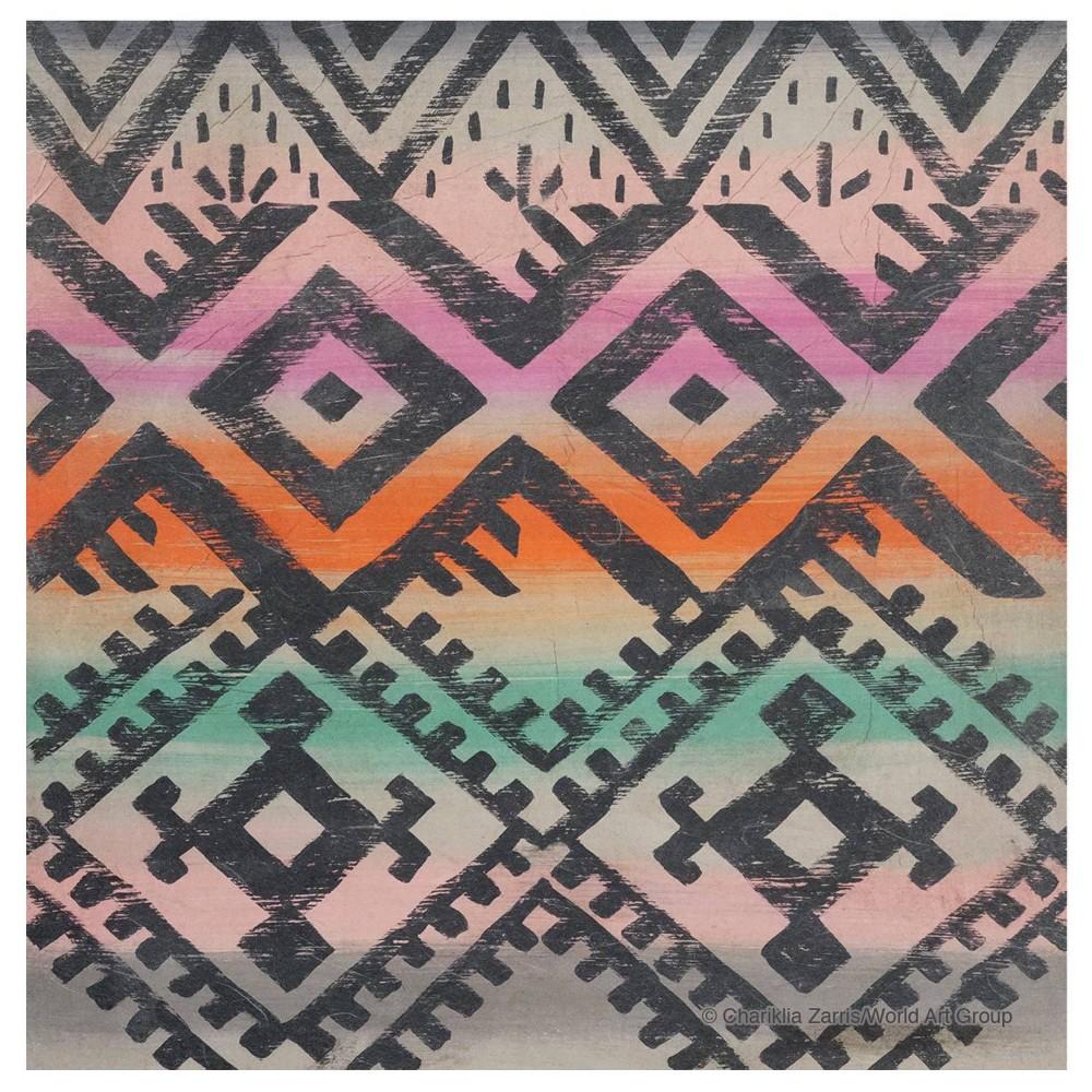 Image of 4pk Ceramic Rainbow Southwest Print Coasters - Thirstystone
