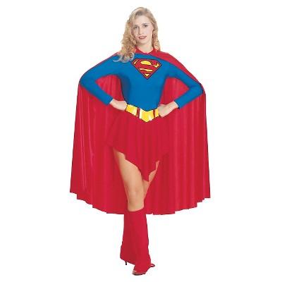 Adult DC Comics DC Super Hero Girls Supergirl Halloween Costume S