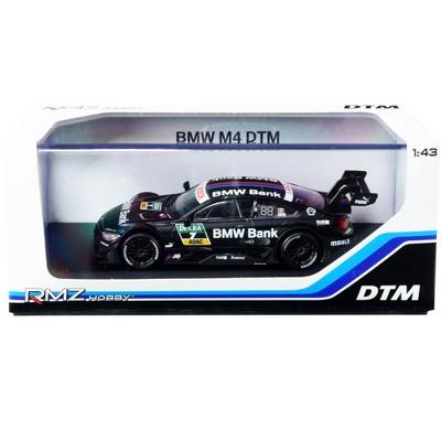 "BMW M4 DTM #7 ""BMW Bank"" 1/43 Diecast Model Car by RMZ City"