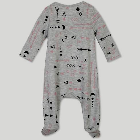 6551dcdac00 Afton Street Toddler Girls  Footed Long Sleeve...   Target