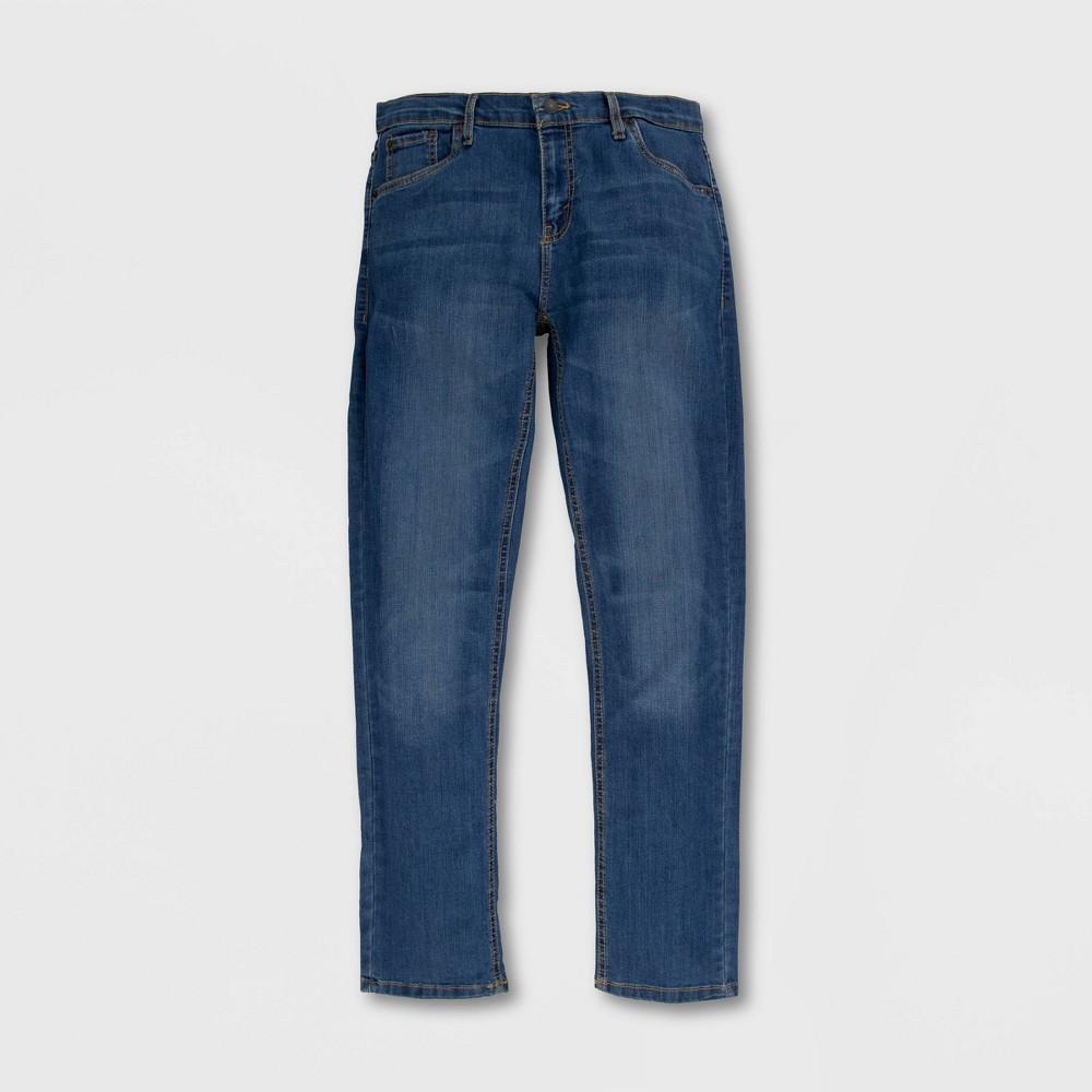 Levi 39 S 174 Boys 39 511 Slim Fit Performance Jeans Well Worn Light Wash 8