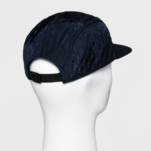 c6712e251be Men s Quilted Flat Bill Baseball Cap - Goodfellow   Co™ Navy One Size    Target