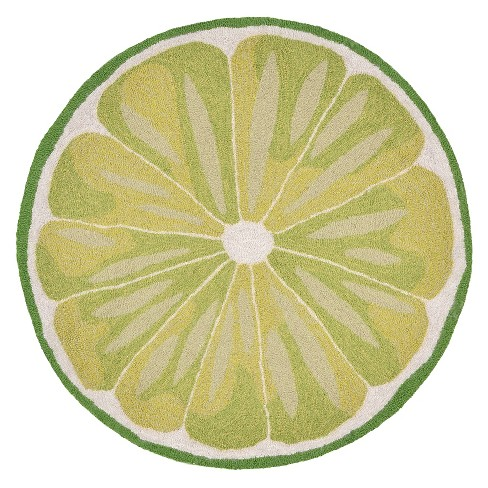 Lime Slice Kitchen Rug - Liora Manne - image 1 of 1