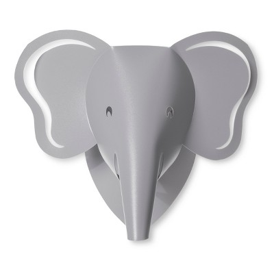 LED Wall Light Elephant - Cloud Island™ Gray