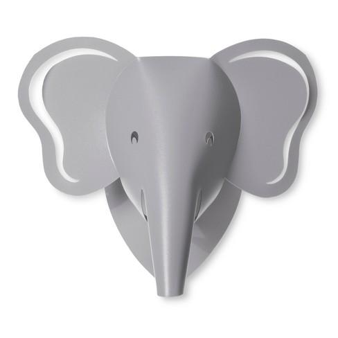 LED Wall Light Elephant - Cloud Island™ Gray   Target 076f3cb5d