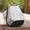 GO By Goldbug Car Seat Canopy Cover Clouds - image 4 of 4