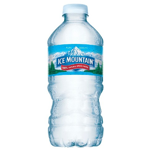 9cadae4dec Ice Mountain Brand 100% Natural Spring Water - 12pk/12 Fl Oz Bottles :  Target