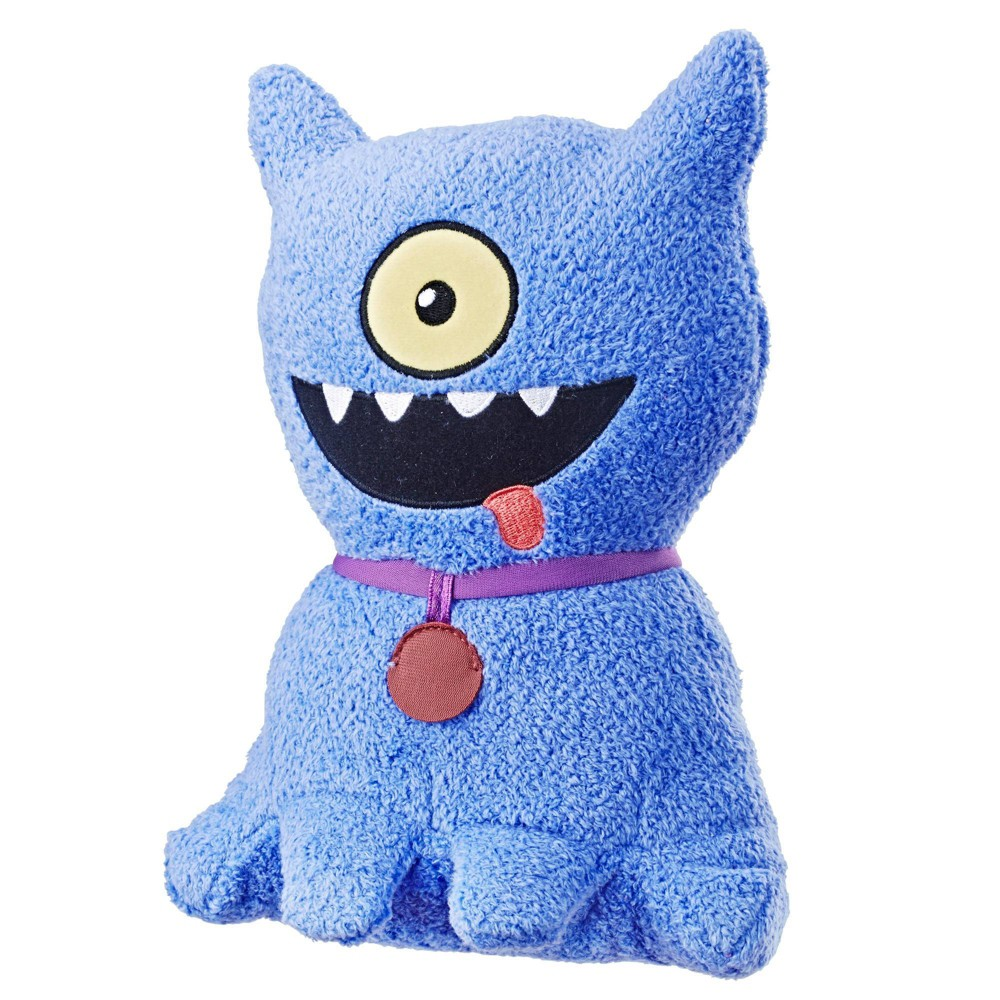 UglyDolls Feature Sounds Ugly Dog, Stuffed Plush Toy that Talks, 9.5 Tall