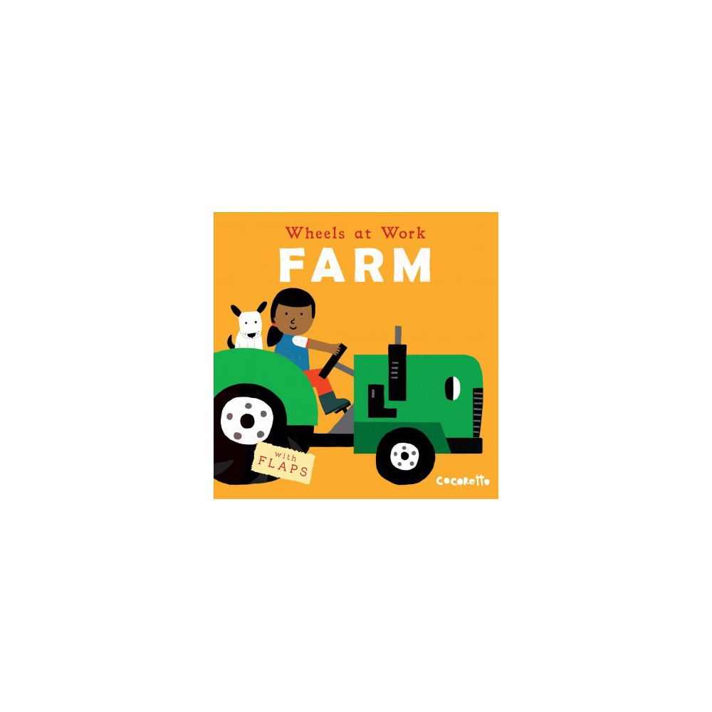 Farm Wheels At Work Us Edition Board Book