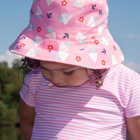 addabb77de I Play Baby Girls  Sun Protection Bucket Hat - Light Pink   Target