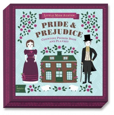 BabyLit Pride & Prejudice Playset with Book : Counting Primer Book and Playset - (Hardcover)