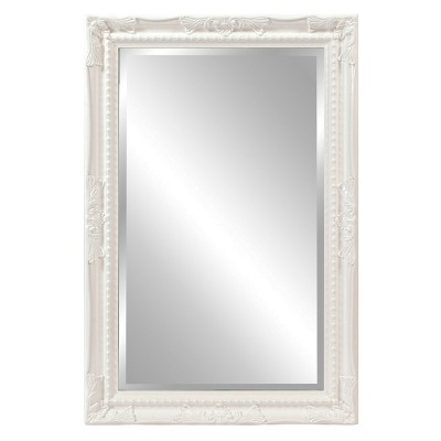 Howard Elliott - Queen Ann Rectangular White Mirror