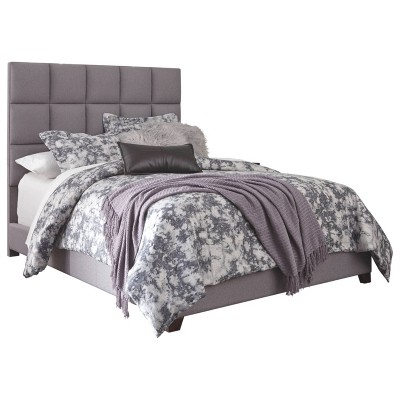 Dolante Upholstered Bed Gray - Signature Design by Ashley