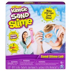 Kinetic Sand Slime Lab, sand art