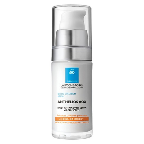 La Roche-Posay Anthelios AOX Daily Antioxidant Face Serum with Sunscreen - SPF 50 - 1.0oz - image 1 of 3