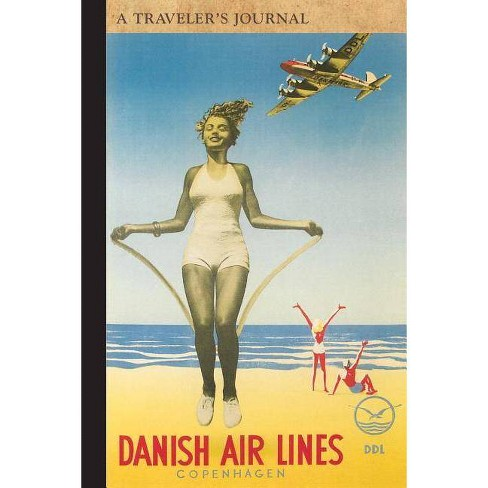 Danish Air Lines: A Traveler's Journal - (Travel Journal) by  Applewood Books (Paperback) - image 1 of 1