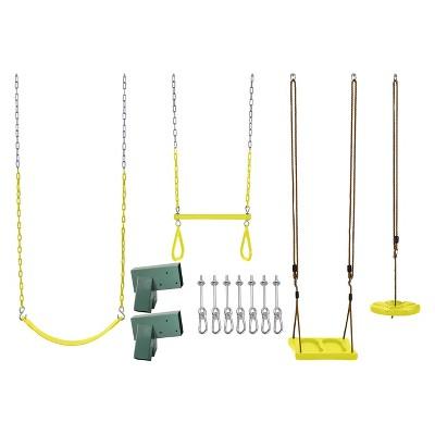 Swingan DIY Swing Set Kit - Yellow