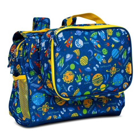 "Bixbee 9.5"" Kids' Imagination Backpack & Lunchbox Set - Outer Space - image 1 of 4"