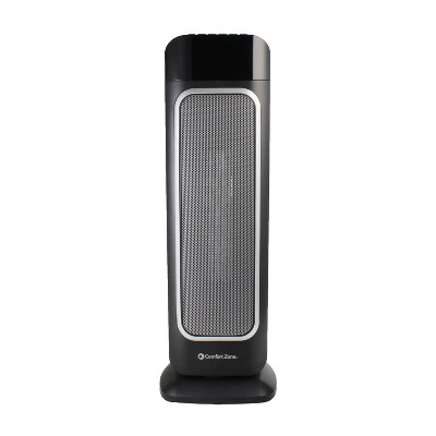 Comfort Zone Digital Ceramic Oscillating Tower Heater