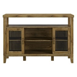 "52"" Wood Console High Boy Buffet - Saracina Home"