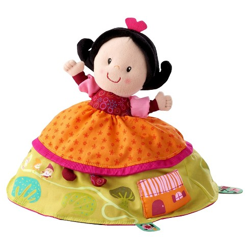 Lilliputiens Reversible Snow White Plush Story Telling Toy - image 1 of 4