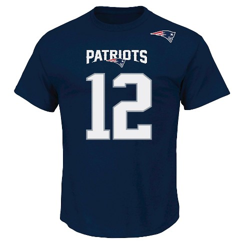 New England Patriots Men's Ring Spun T-Shirt L - image 1 of 1