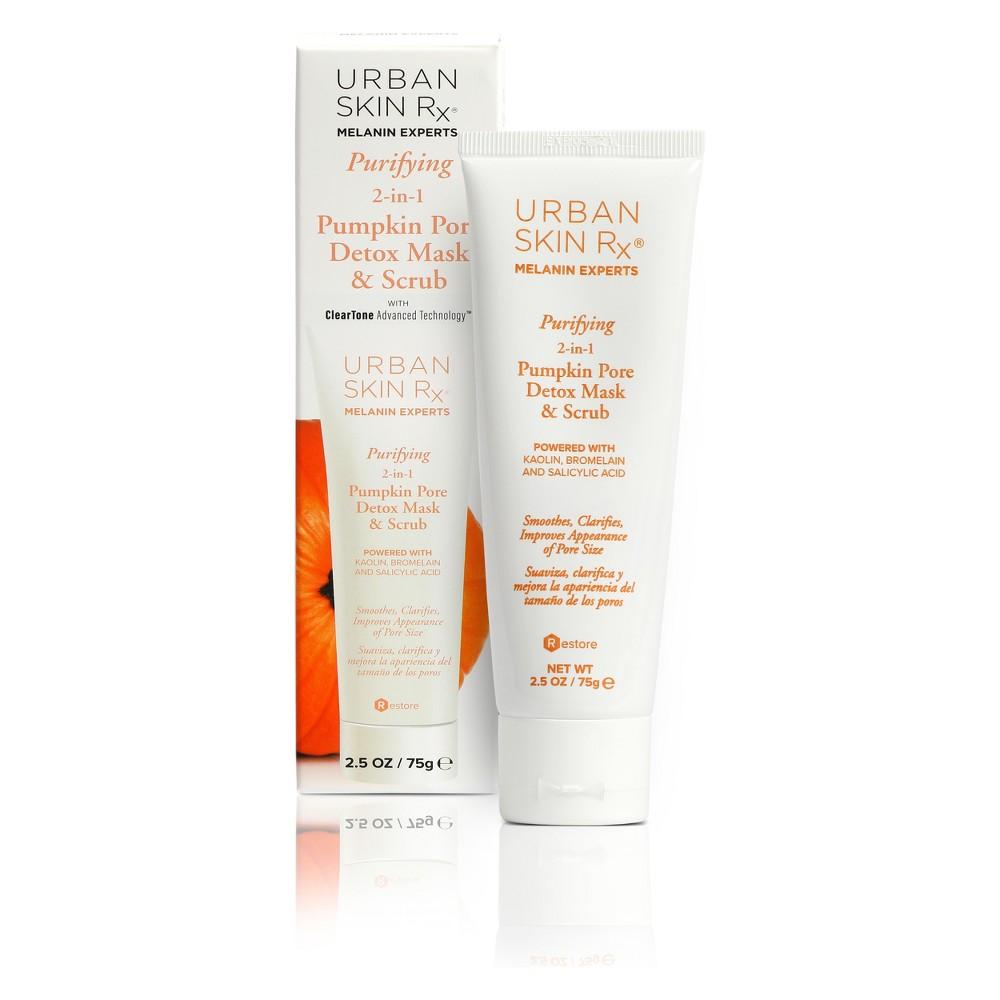 Urban Skin Rx Purifying Pumpkin Pore Detox Mask and Scrub - 2.5oz