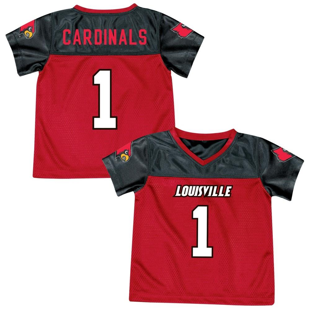 Athletic Jerseys Louisville Cardinals 4T, Multicolored