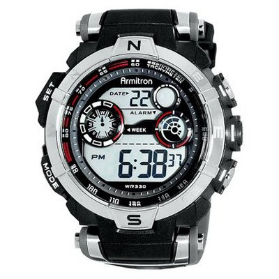 Men's Armitron Digital Sport Watch - Black