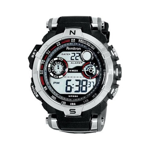 Men's Armitron Digital Sport Watch - Black - image 1 of 4