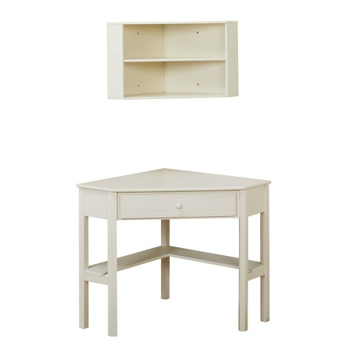 Corner Desk With Hutch Antique White Buylateral Target