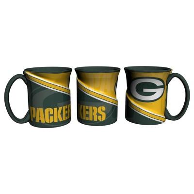 Green Bay Packers Sculpted Twist Mug