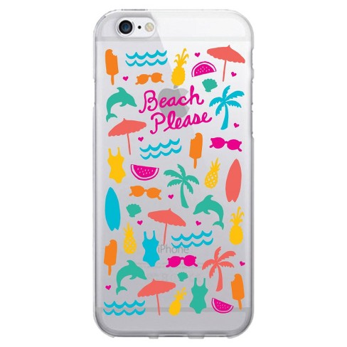 iPhone 7/6 Clear Case Beach Please - OTM Essentials® - image 1 of 1