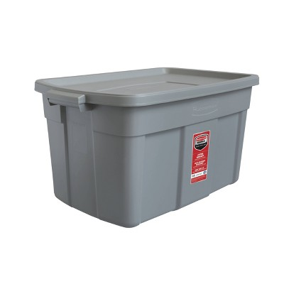 Rubbermaid 31gal Roughneck Storage Tote Gray