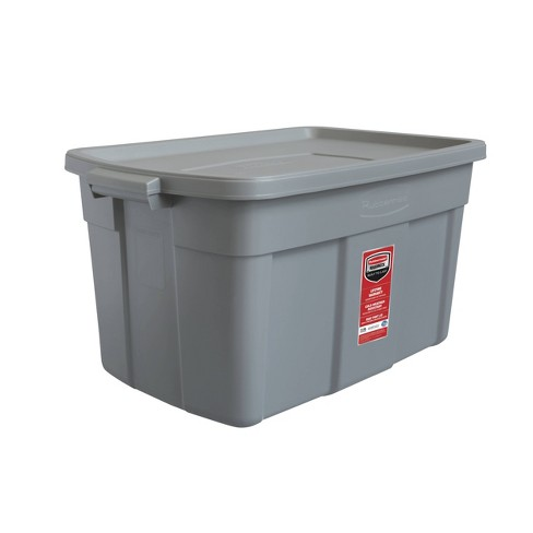 Rubbermaid 31gal Roughneck Storage Tote Gray - image 1 of 4
