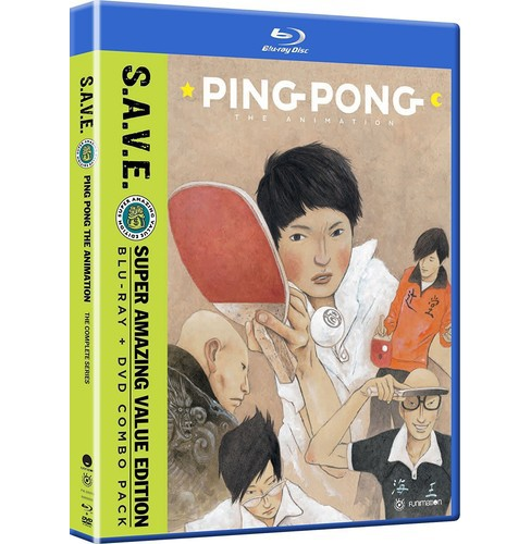 Ping Pong The Animation:Complete Seri (Blu-ray) - image 1 of 1