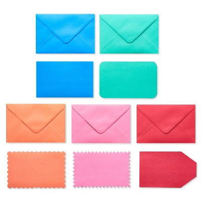 50ct Blank Cards with Envelopes Rainbow - Spritz™