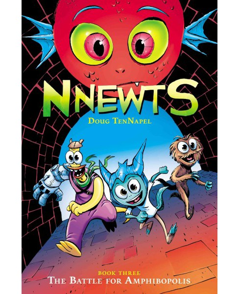 Nnewts 3 : The Battle for Amphibopolis -  (Nnewts) by Doug Tennapel (Paperback) - image 1 of 1