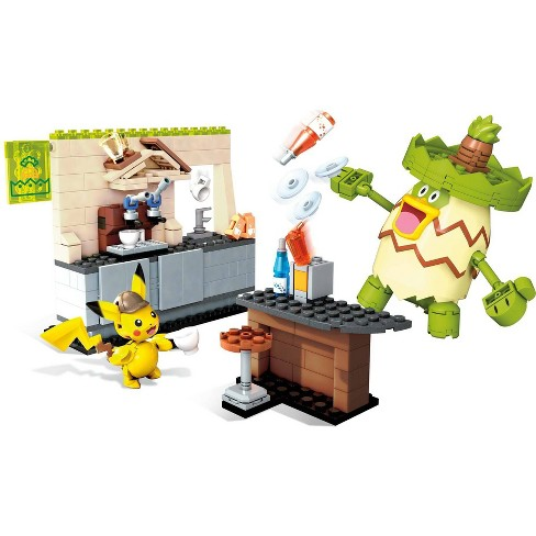 Mega Construx Pokmon Detective Pikachu Hi-Hat Caf Building Set