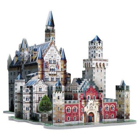 Neuschwanstein Castle 890pc 3D Puzzle - image 1 of 7