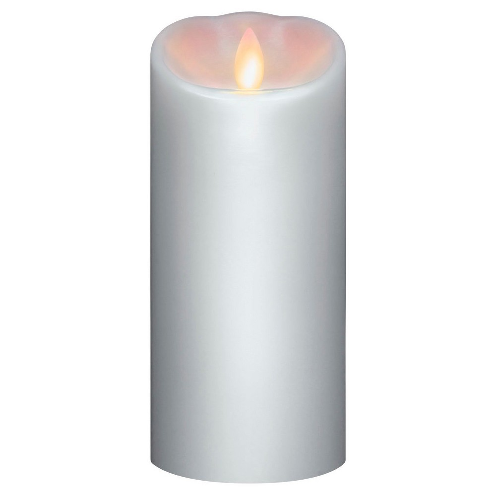 Battery Operated Led Candle White 3