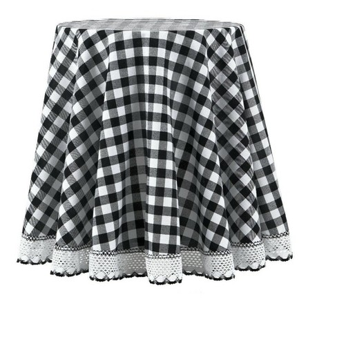 Kate Aurora Country Farmhouse Plaid Buffalo Check Stain & Spill Proof Fabric Tablecloths - image 1 of 4