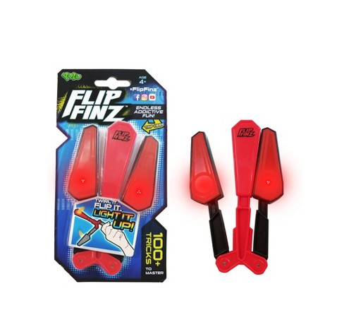 Flip Finz Skill Game Toy - Red - image 1 of 1