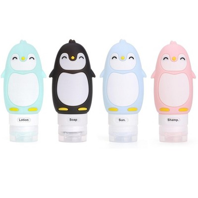 Kanga Care Travel Buddiez - Penguin Family (4 pack) Multicolored